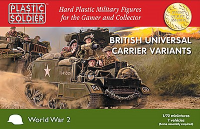 Plastic Soldier WW2V20033 British Universal Carrier * Variantes *